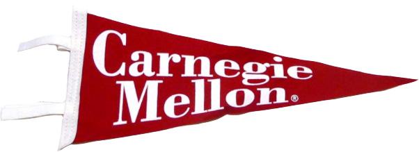 Pennant: Carnegie Mellon 6x15