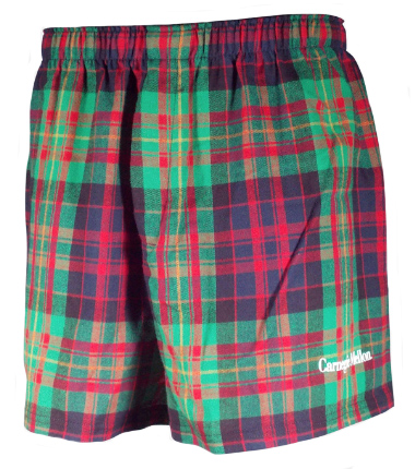 Flannel Boxers: Custom Plaid