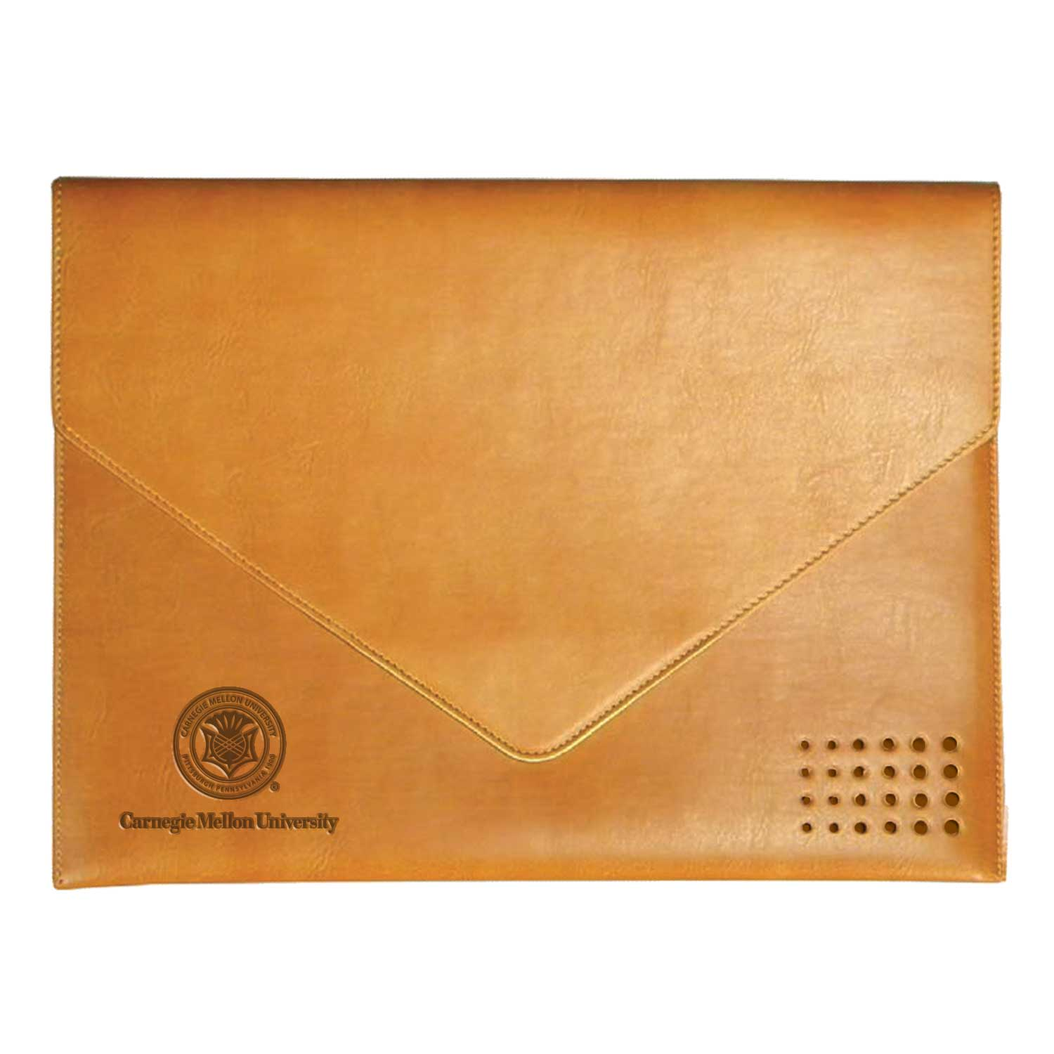 Leather Document Holder: Black, Brown, Tan
