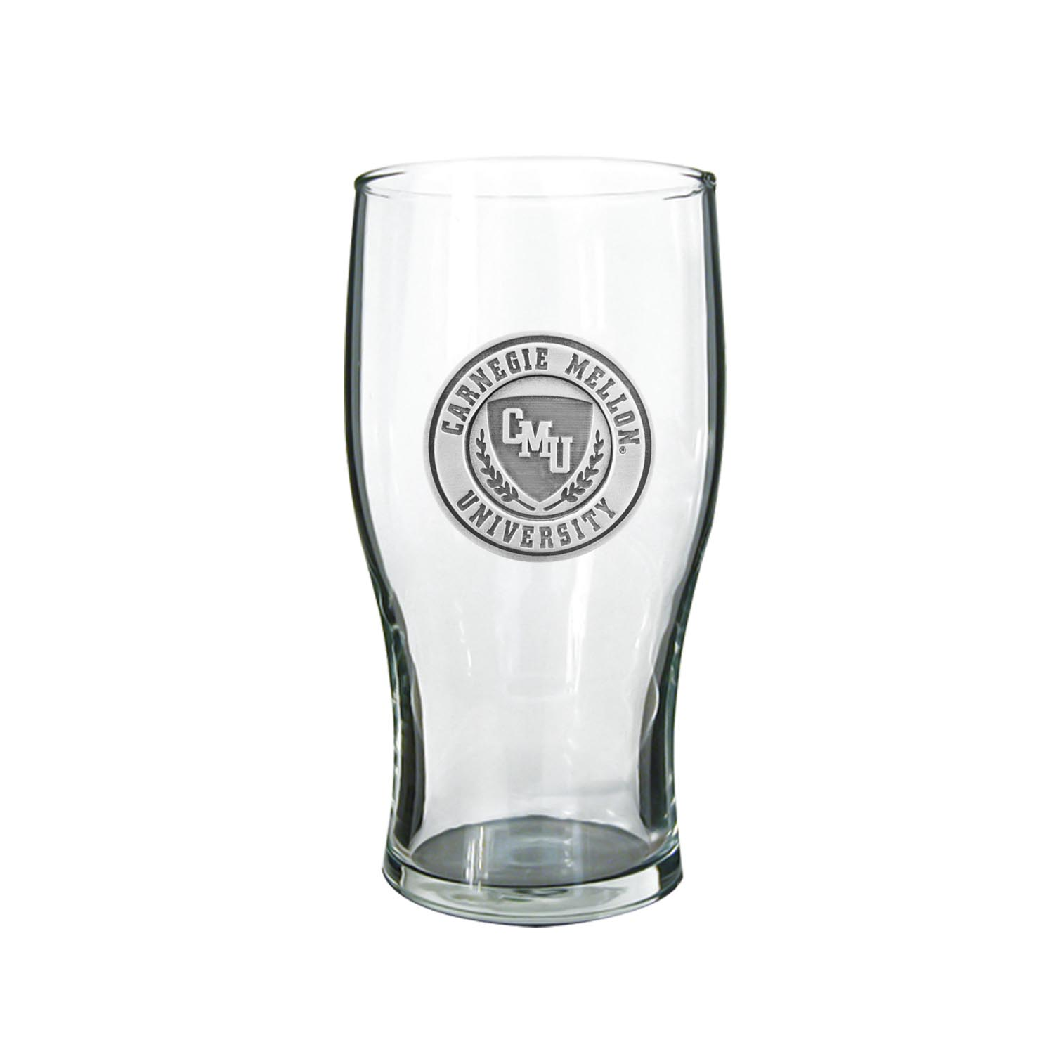 Glassware: Pub Glass with Pewter Seal