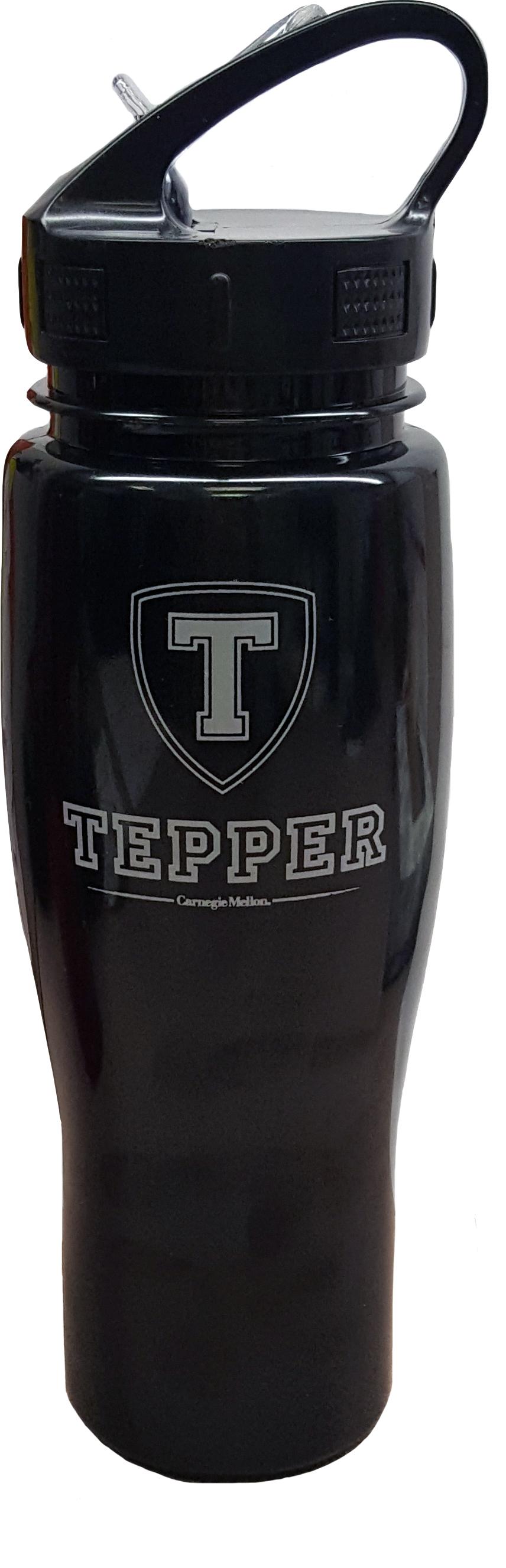 Tepper Water Bottle: Black