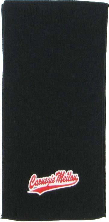 Scarf: Basic Knit Black