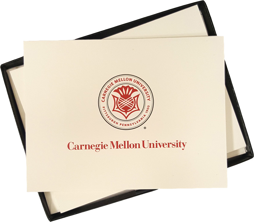 Note Cards: Carnegie Mellon Seal or Scotty