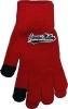 Gloves: Basic Knit Text Cardinal thumbnail