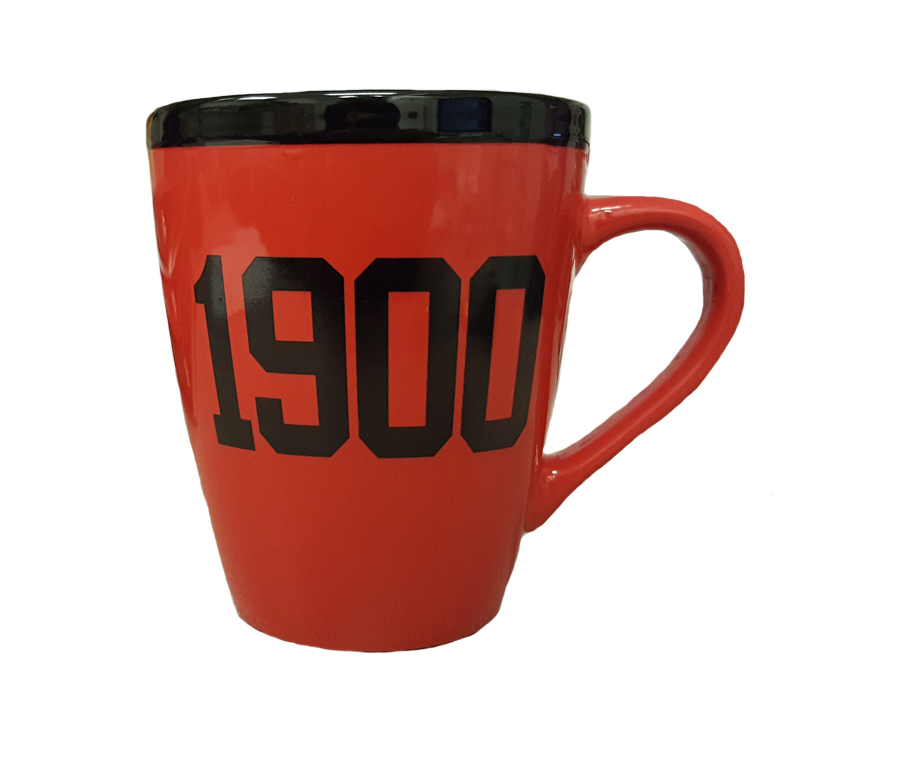 Mug: 18oz Sophia Red 1900