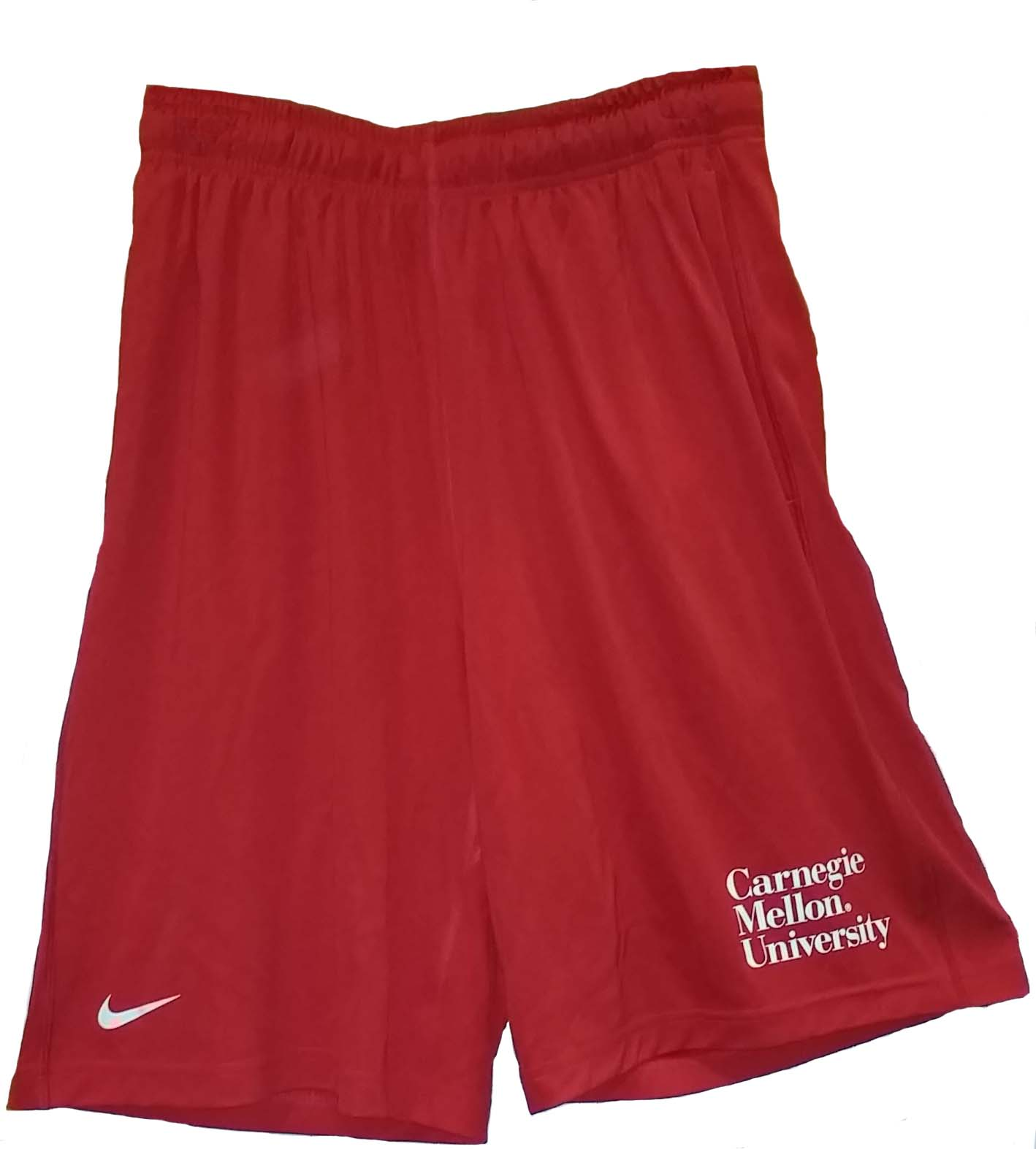 Nike Dri-Fit Athletic Shorts: Red | Carnegie Mellon Bookstore