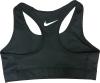 Nike Pro Combat Sports Bra: Black thumbnail