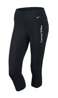 Nike Dri-Fit Cotton Capris: Black