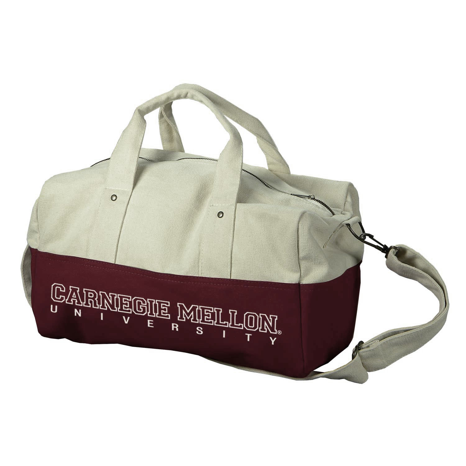 Duffel Bag: Maroon Rally