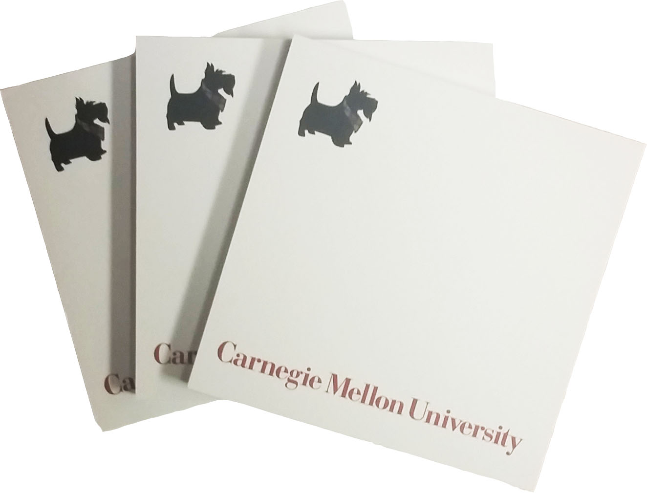 Adhesive Note Pad: Scotty 3x3
