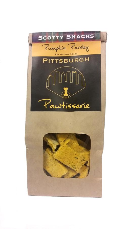 Pittsburgh Pawtisserie Dog Treats: Pumpkin