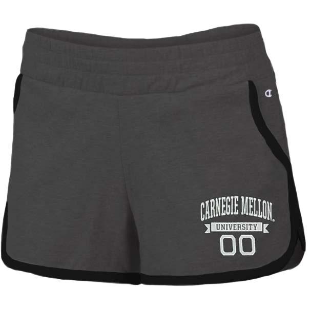 University Shorts: Black