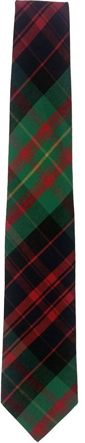 Tie: Tartan Fabric