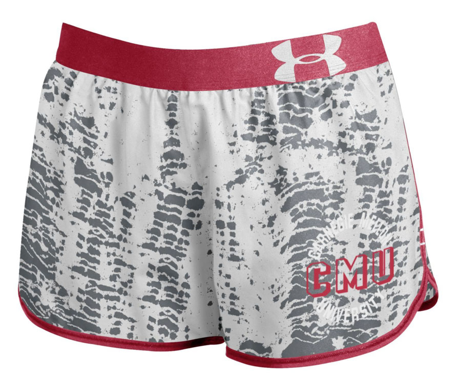 Performance Running Shorts: Red