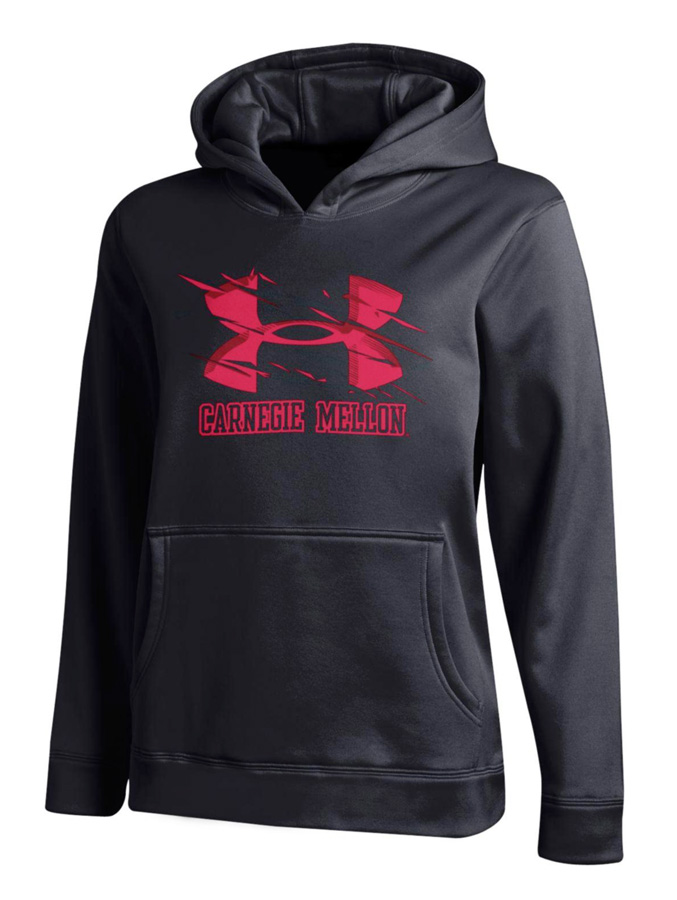 Kids Under Armour Hoodie: Black