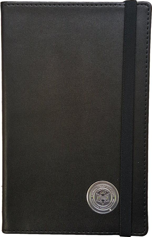 Journal: Black with Seal
