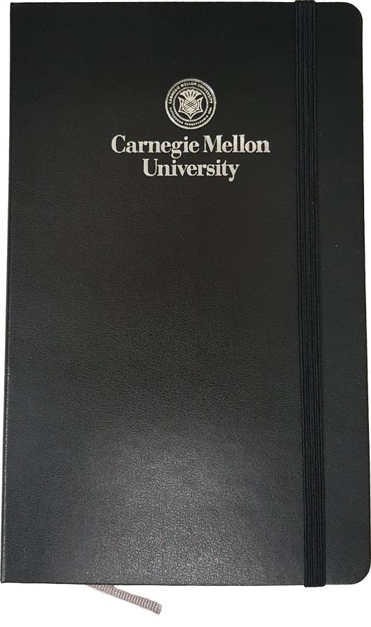 Moleskine Plain Page Notebook: Black