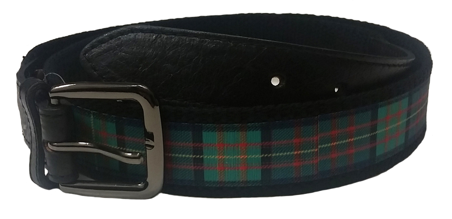 Belt: Plaid & Black 32/34