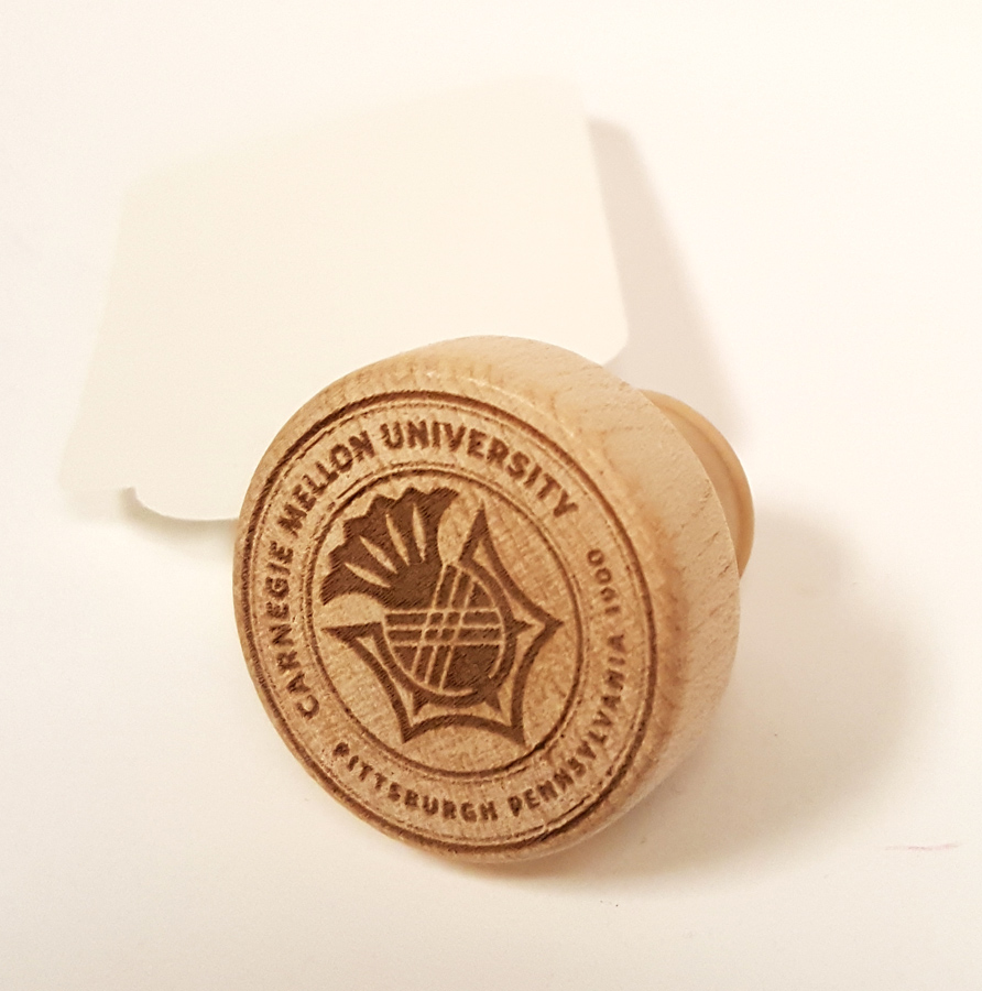 Bottle Stopper: Carnegie Mellon Seal