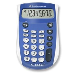 Calculator: TI-503 SV
