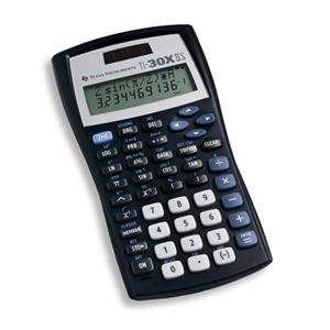 Calculator: TI-30X IIS