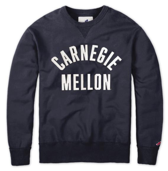 Manchester Crew Sweatshirt: Navy