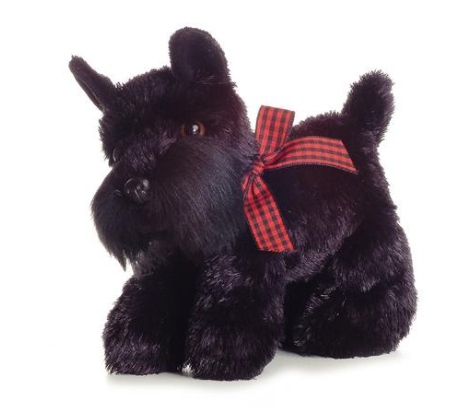 Mini Scotty Dog Plush