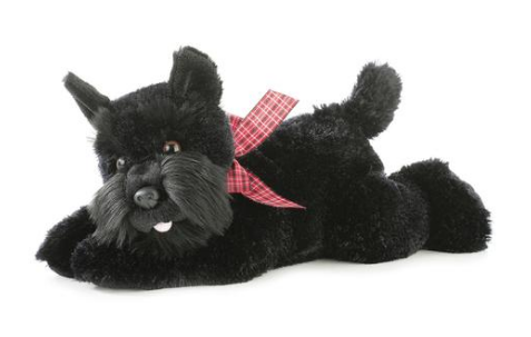Scotty Dog Plush
