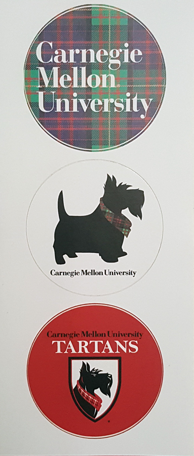 CMU Stickers: Set of 3