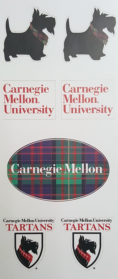 CMU Stickers: Set of 7