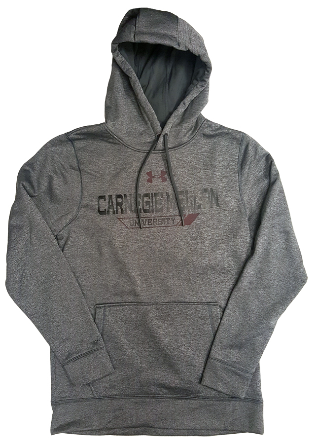 Under Armour Fleece Lined Hoodie: Charcoal