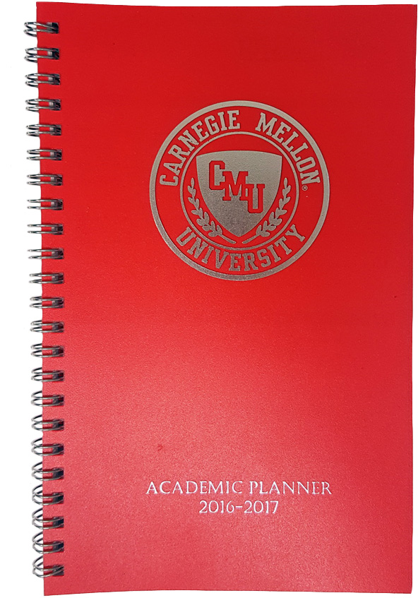 Academic Planner 2017-2018: Red