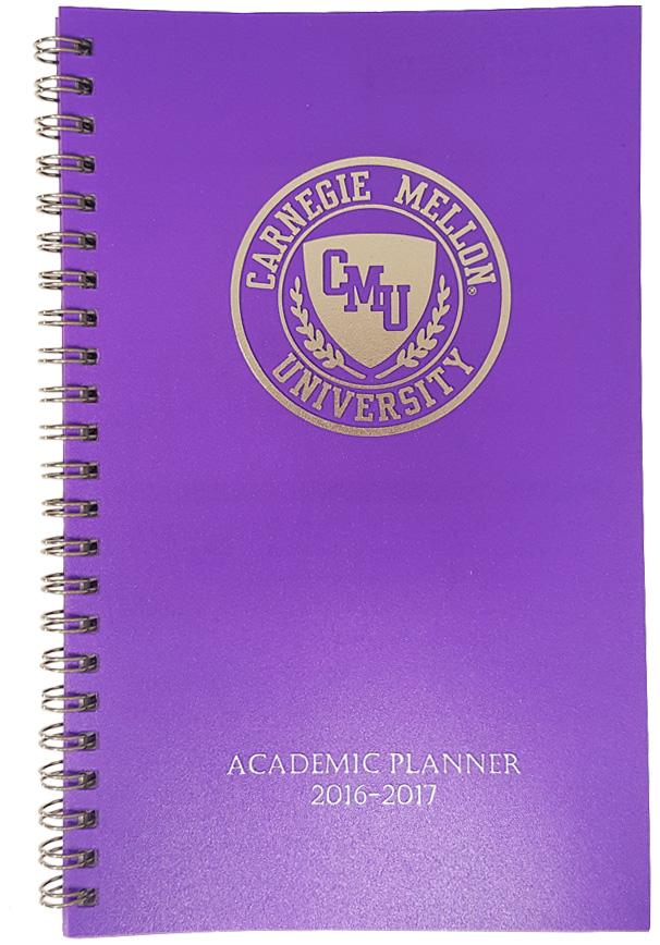 Academic Planner 2017-2018: Purple