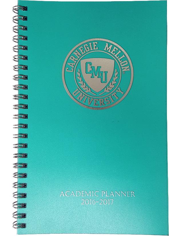Academic Planner 2017-2018: Teal
