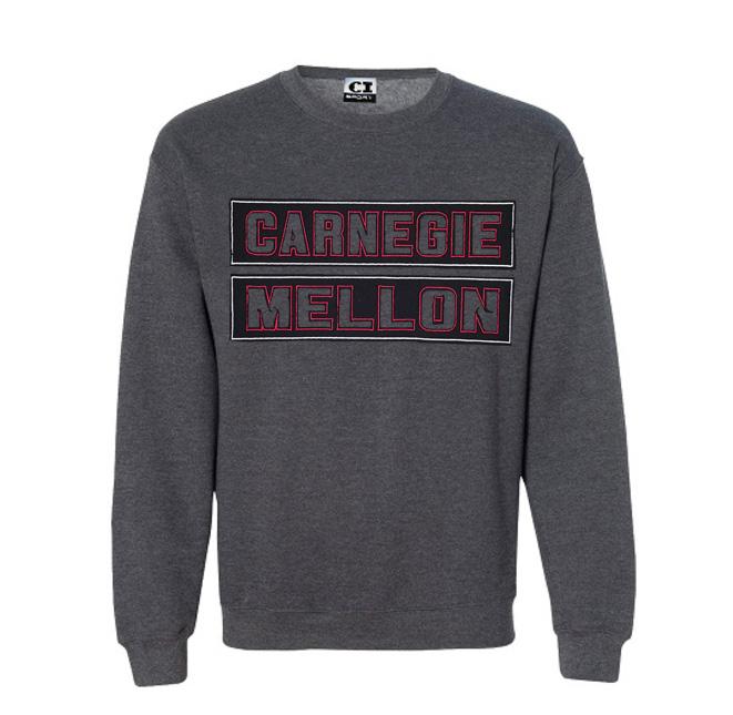 Meteor Crewneck Sweatshirt: Charcoal