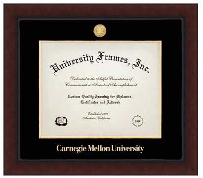 University Frames Diploma Frame: Legacy Gold Medallion