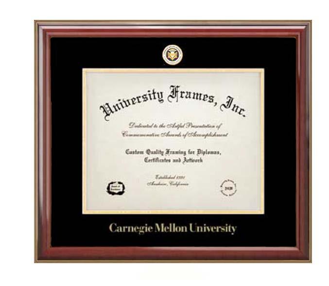 University Frames Diploma Frame: Classic Tartan Medallion
