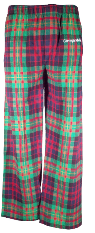 Cotton PJ Pants: Tartan