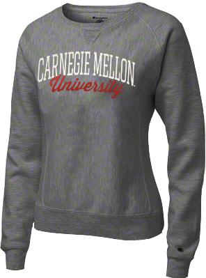 University Crew Sweatshirt: Charcoal