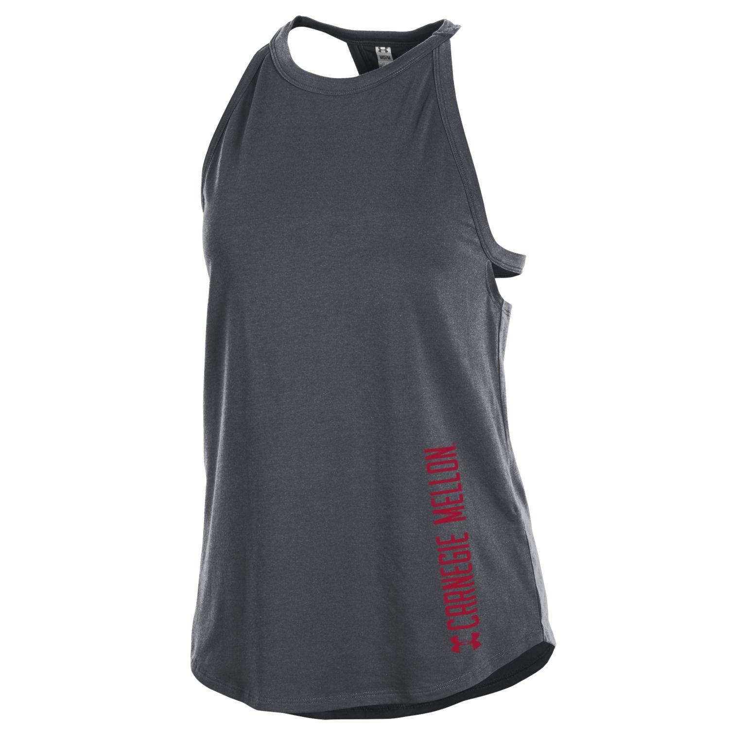 Under Armour Charged Tank: Charcoal