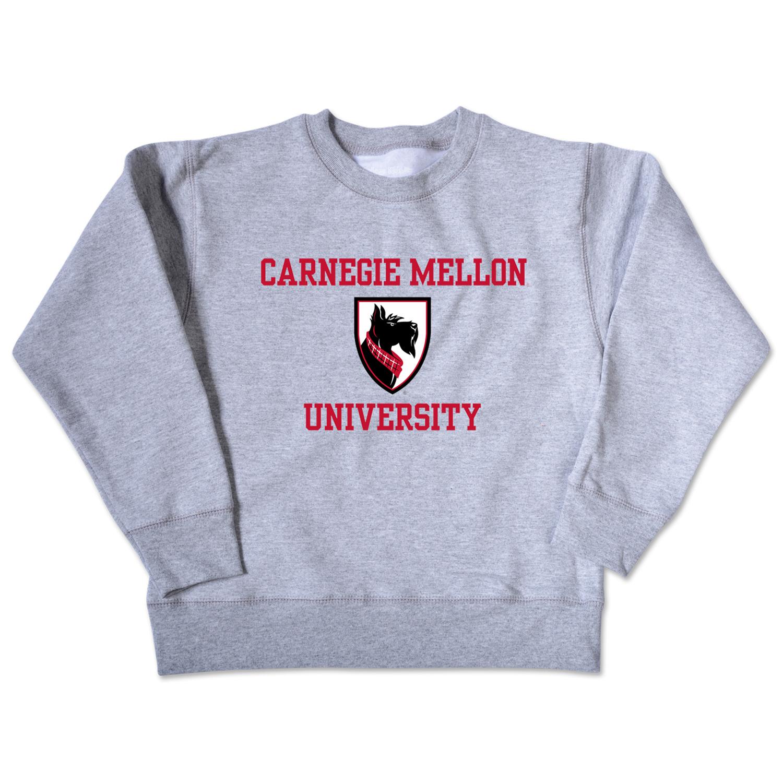 Infant Crewneck Sweatshirt: Oxford