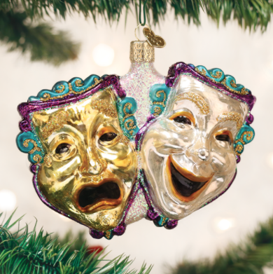 Ornament: Comedy/Tragedy