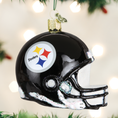 Ornament: Steelers Helmet