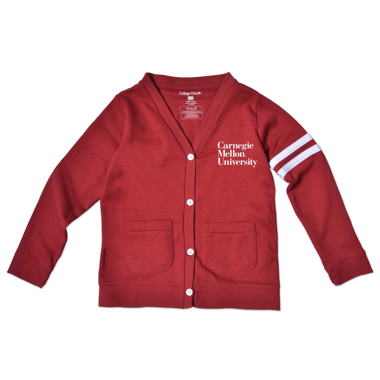 Infant Cardigan: Cardinal