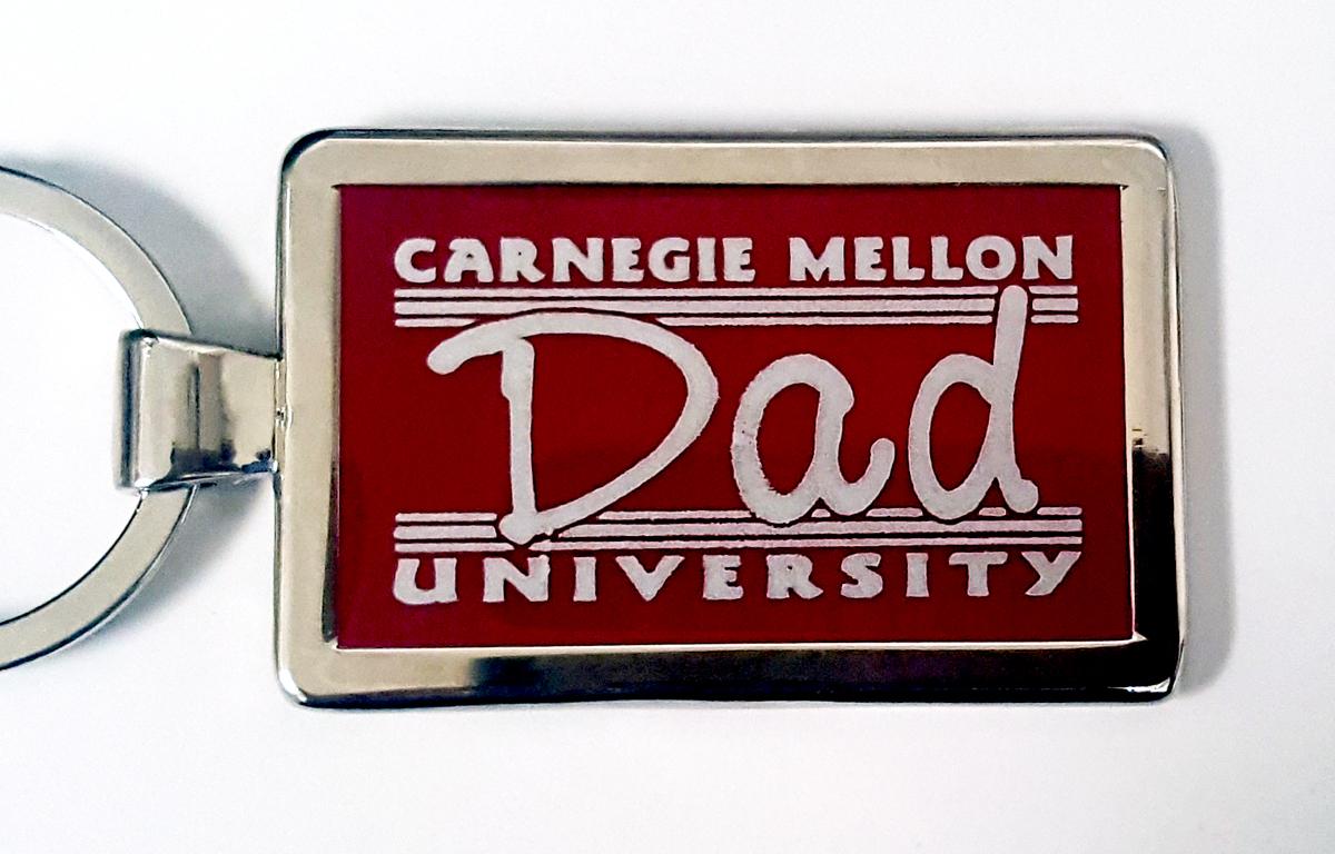 Keychain: CMU Dad
