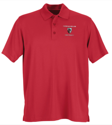 Scotty Shield Polo: Red