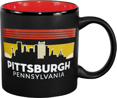 Mug: Pittsburgh Skyline 11oz