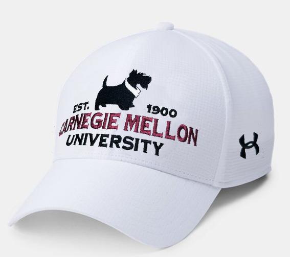 UA Armourvent Hat: White
