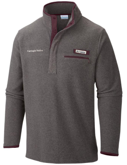 Columbia Harborside 1/4 Zip: Charcoal