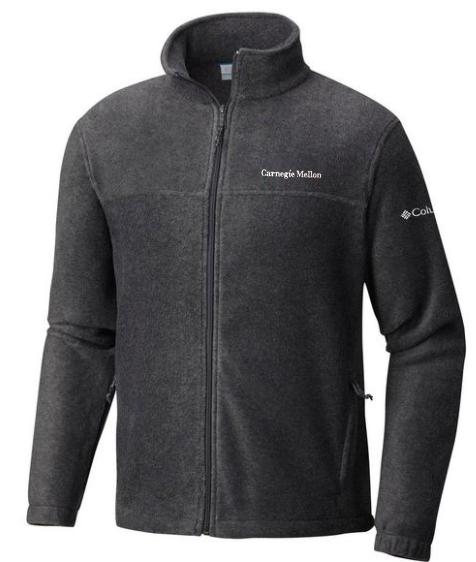Columbia Flanker Jacket: Charcoal